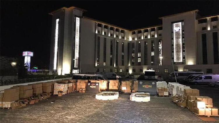 Ankara'da bandrolsüz makaron operasyonu: 3 gözaltı