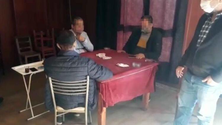 Koronavirüse rağmen ofiste kumara 25 bin lira ceza