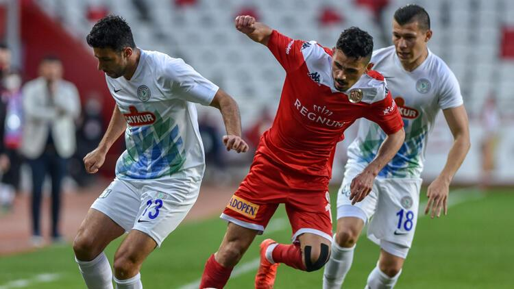 Antalyaspor 2-3 Rizespor / Maç özeti