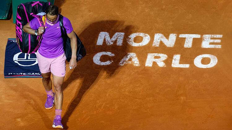 Rafael Nadal, Monte Carlo'ya çeyrek finalde veda etti