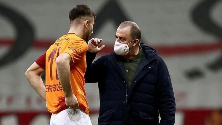 Galatasaray'da forvette Halil Dervişoğlu, sağ bekte Şener 11'de