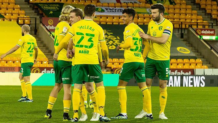Norwich City, Championship'in bitimine 5 hafta kala Premier Lig'e yükselmeyi garantiledi