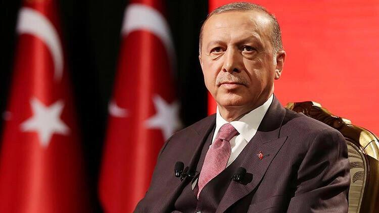 Cumhurbaşkanı Erdoğan, şehit ailesine başsağlığı mesajı gönderdi