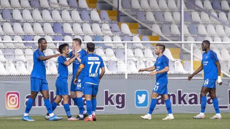 Keçiörengücü 0 - 1 Tuzlaspor (Maç özeti)