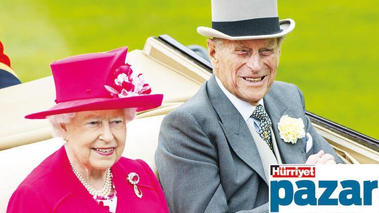 Kraliçenin prensine vedası...