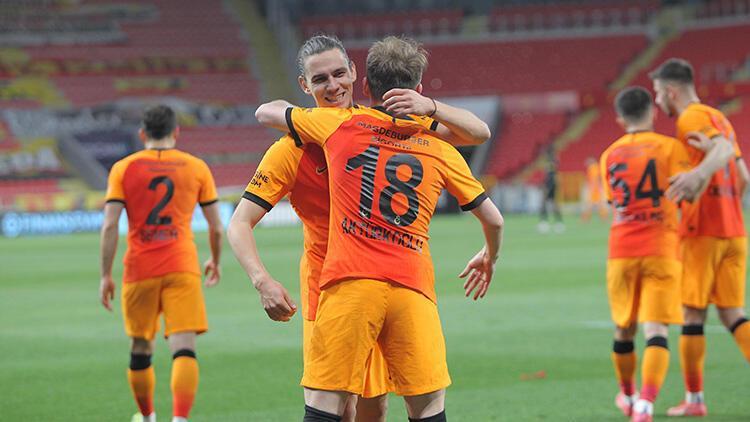 Göztepe 1-3 Galatasaray (Maçın özeti ve golleri)
