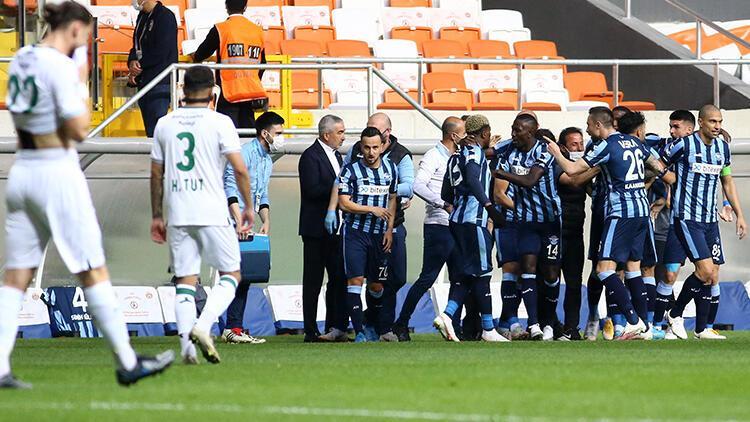 Adana Demirspor 3 - 0 Giresunspor (Maç özeti)