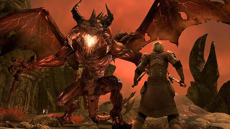 The Elder Scrolls Online: Blackwood Geliyor