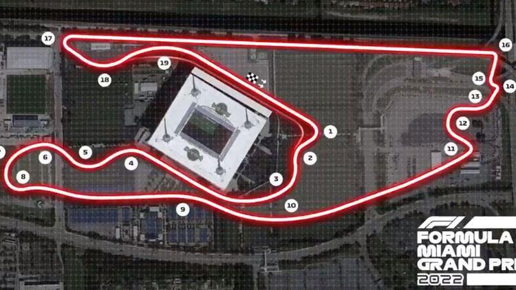 Formula 1'e yeni yarış, yeni pist! Miami Grand Prix gelecek sezon düzenlenecek
