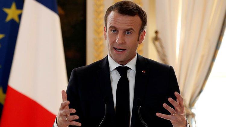 Macron'dan 'Rusya' açıklaması: Kırmızı çizgilerimizi net şekilde çizmeliyiz