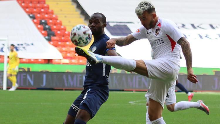 Gaziantep FK 2 - 2 Kasımpaşa (Maç özeti)