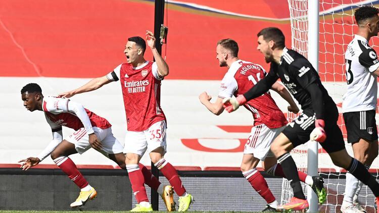 Arsenal, Fulham karşısında 1 puanı 90+7'de kurtardı
