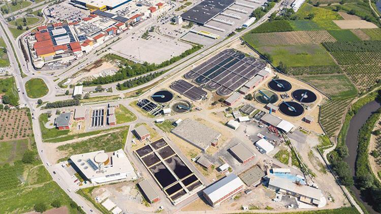 DOSAB atık suyun yüzde 40'ını kazanmak için 90 milyon lira yatırım yaptı