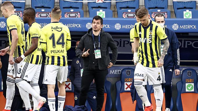 Fenerbahçenin korner kabusu Başakşehir maçında yine benzer golü yediler
