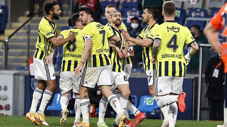 Başakşehir 1-2 Fenerbahçe (Maçın özeti ve golleri)