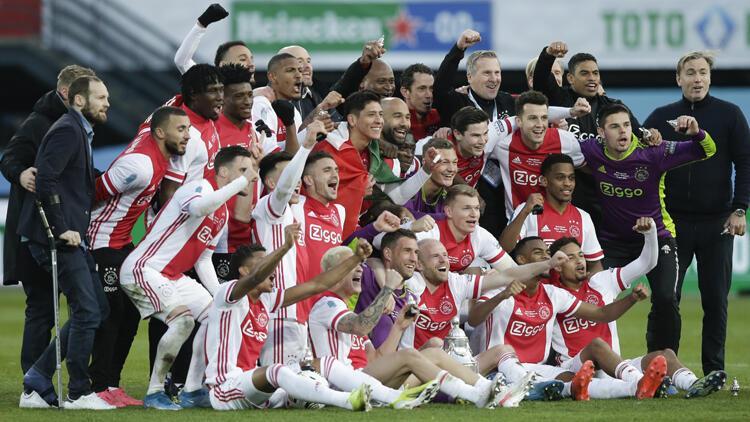 Ajax, Hollanda Kupasını son dakika golüyle kazandı