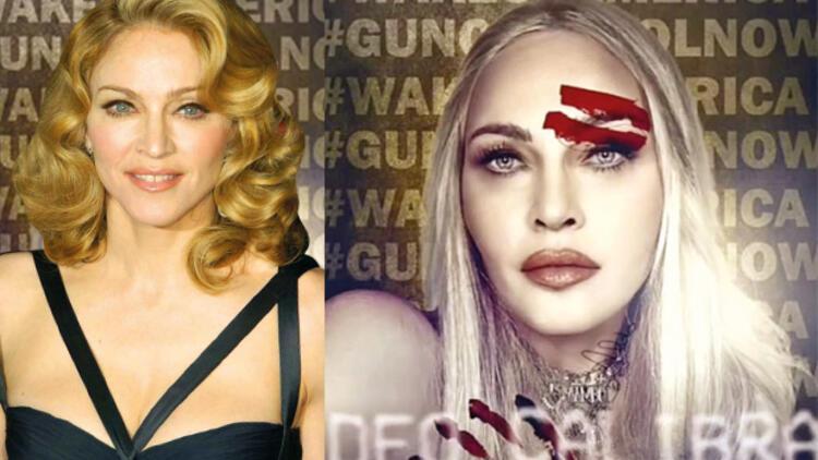 Madonna'dan 'silahlara savaş'