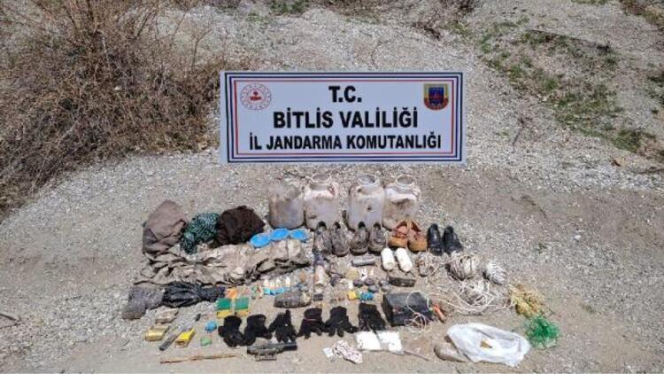 Bitlis kırsalında patlamaya hazır 500 gram TNT kalıbı ele geçirildi