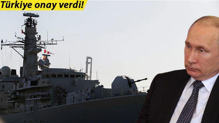Türkiye izin verdi: İngiltere Karadeniz'e savaş gemisi gönderiyor