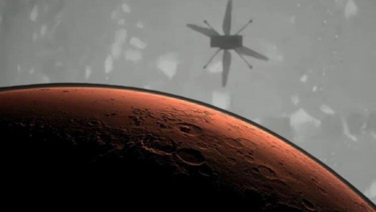 NASA Mars'ta ilk defa helikopter uçurdu
