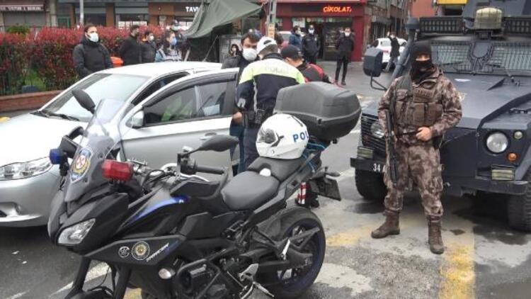 Okmeydanı'nda denetim! Polis giriş-çıkışları kapattı, didik didik aradı