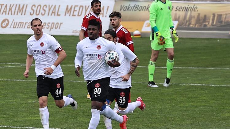 TFF 1. Lig: Ümraniyespor 4-3 Ankaraspor