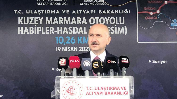 Kuzey Marmara'da son 10 kilometre
