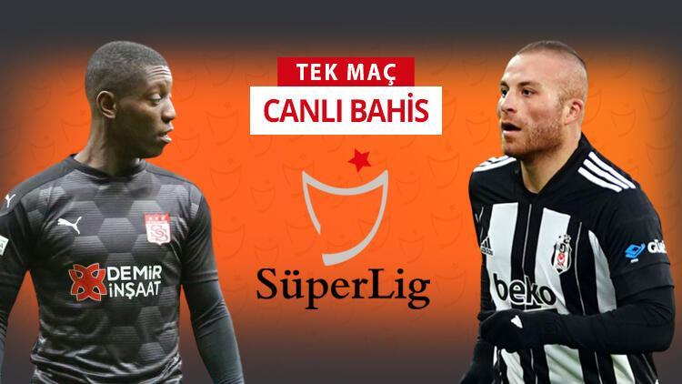 Süper Lig'de 12 maçtır kaybetmeyen Sivasspor'da 4 eksik! Beşiktaş'ın iddaa oranı...
