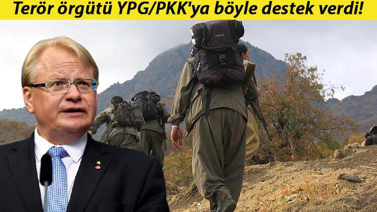 İsveç Savunma Bakanı Hultqvist'ten terör örgütü YPG/PKK'ya destek