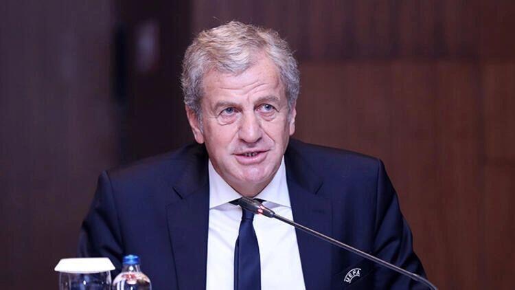 Son dakika: Servet Yardımcı yeniden UEFA Yönetim Kurulu'na seçildi