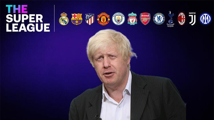 Son dakika: İngiltere Başbakanı Boris Johnson'dan Avrupa Süper Ligi açıklaması!..