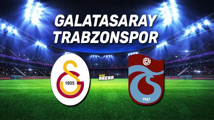 Galatasaray Trabzonspor maçı saat kaçta, hangi kanalda? Galatasaray ile Trabzonspor 131. randevuda..