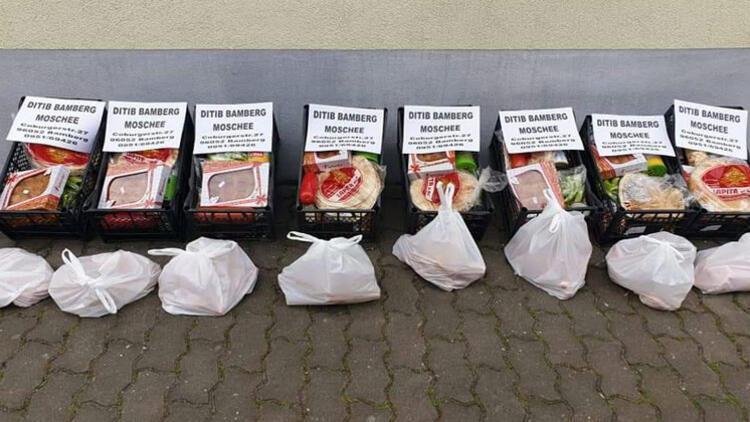 Bamberg DİTİB'den, ihtiyac sahiplerine yardım paketi
