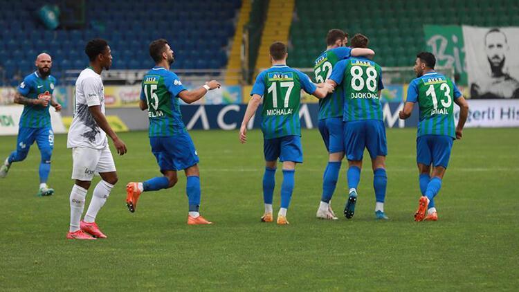 Çaykur Rizespor 5-3 İttifak Holding Konyaspor (Maç Özeti ve Golleri)
