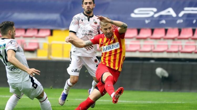 Kayserispor 2-2 Gençlerbirliği (Maç özeti ve golleri)