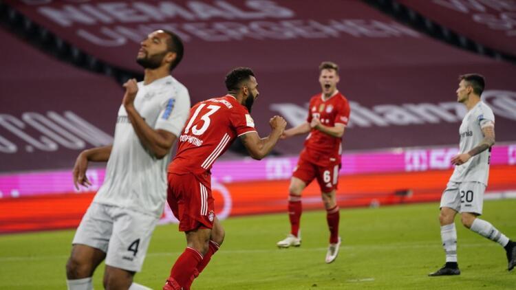Bundesliga'da Bayern Münih yine kazandı