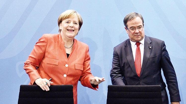 Merkel'in partisinin adayı Türk Armin oldu