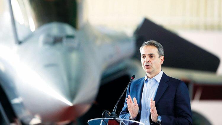 Miçotakis'ten Rafale pozu... 'Yunanistan yalnız değildir'