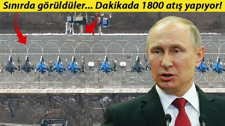 Uydu fotoğrafları deşifre etti: Rusya sınıra bombardıman uçağı gönderdi