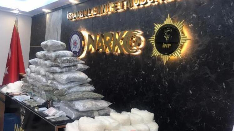 İstanbul'da 4 operasyon! 78 kilogram uyuşturucu ele geçirildi