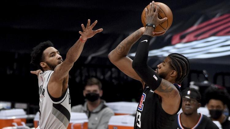 NBA'de Gecenin Sonuçları: Clippers, Blazers'ı Paul George önderliğinde devirdi