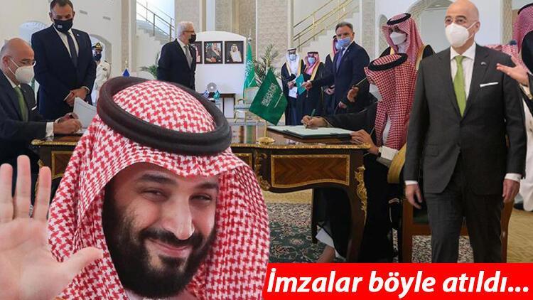 Suudi Arabistan ve Yunanistan'dan iş birliği görüşmesi!