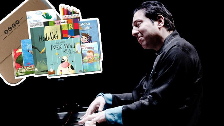 Fazıl Say'ın müzikleriyle hazırlanan kitaplar 100 bin çocuğa gönderilecek