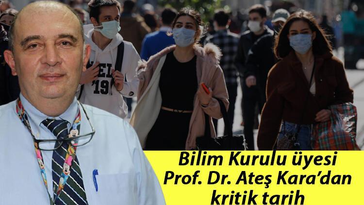 Bilim Kurulu üyesi Prof. Dr. Ateş Kara'dan kritik tarih: 'Şikayetler başlamadan 2-3 gün önce yaygın bulaştırıcılık başlıyor'