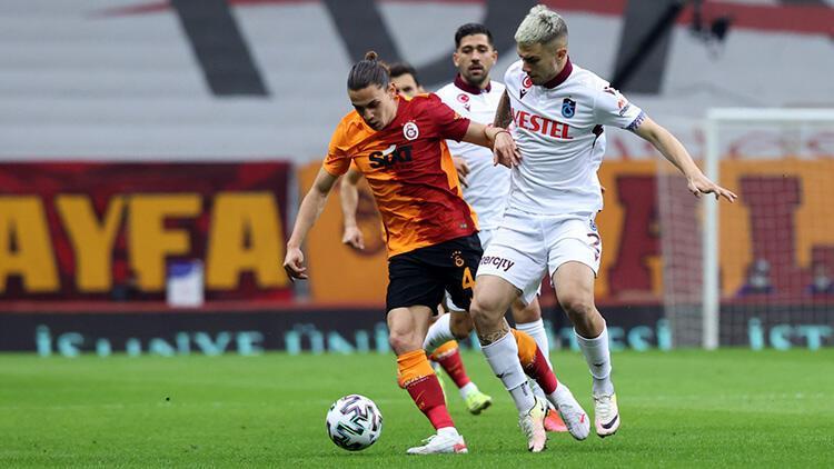 Galatasaray 1-1 Trabzonspor (Maçın özeti ve golleri)