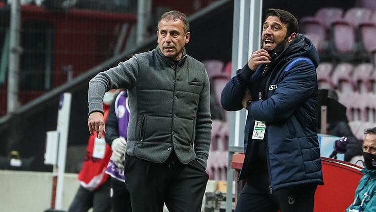 Trabzonspor'da Abdullah Avcı'dan Galatasaray sonrası flaş sözler! 'Sinirliyim'
