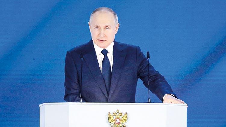 Putin: Kırmızı çizgilerin aşılmasına izin vermeyiz