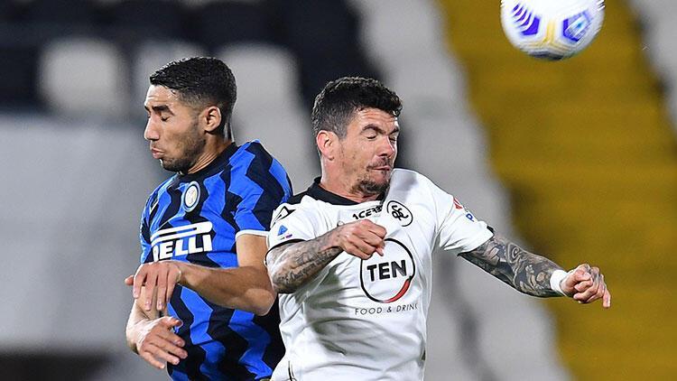 Lider Inter, Spezia engeline takıldı!