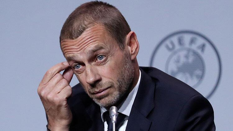 UEFA Başkanı Aleksander Ceferin'den Avrupa Süper Ligi için flaş sözler!