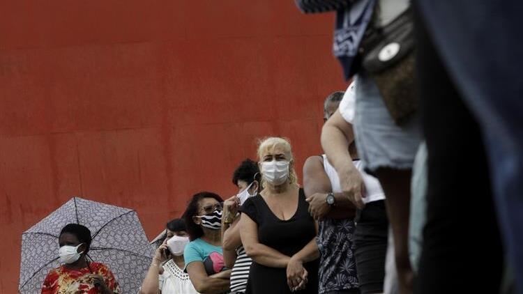 Latin Amerika ülkelerinde Kovid-19 kaynaklı can kayıpları artmaya devam ediyor